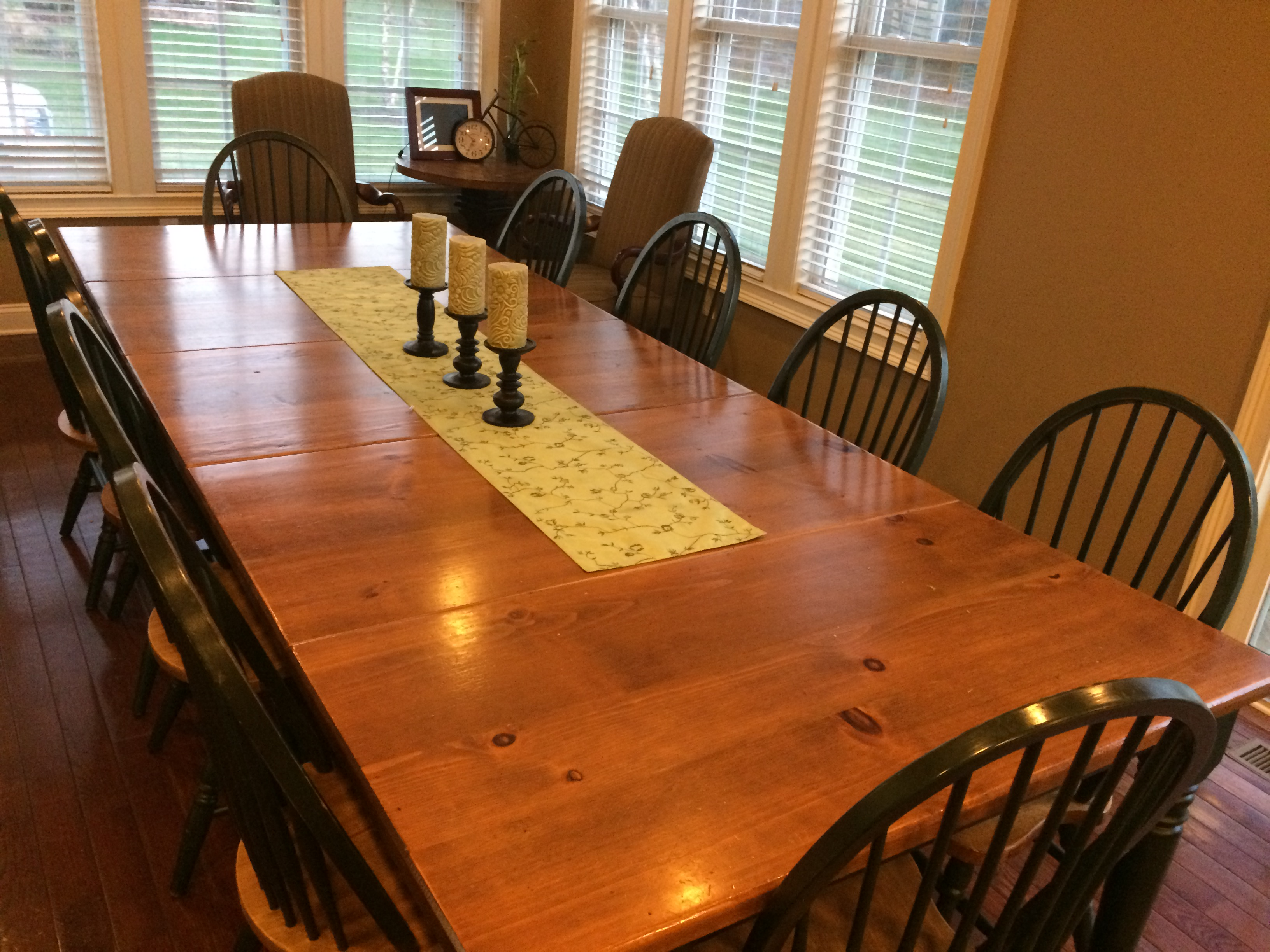 I am grateful for the heart of my home: My Kitchen Table
