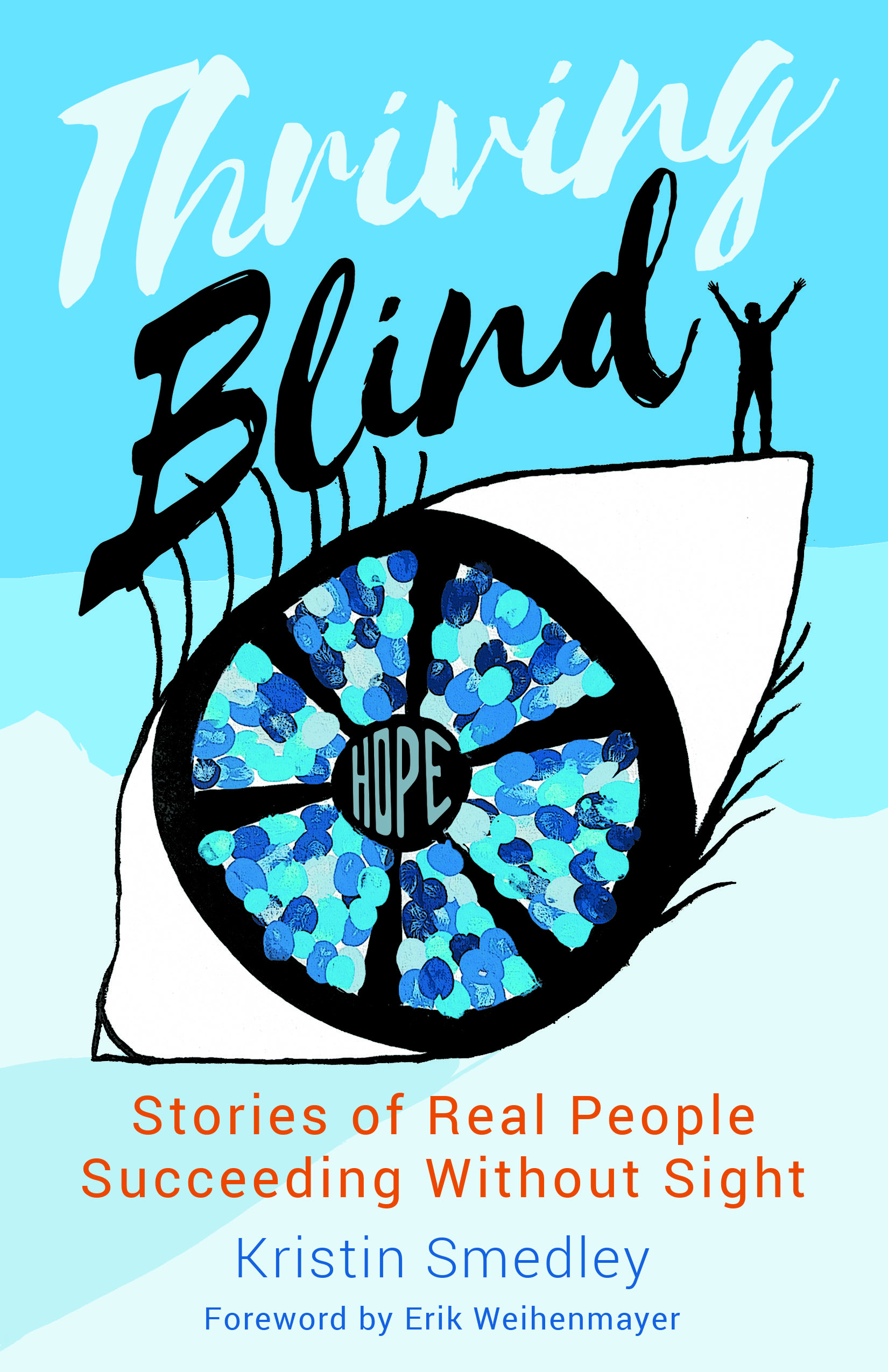 Thriving Blind Book Cover